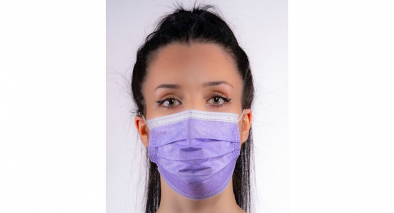 Mask BFE 98 Type IIR real lady - purple